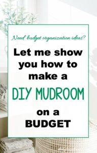 DIY Mudroom Ideas, Board and Batten, Cheap, On a Budget, Laundry Room