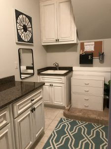 Laundry room is finished