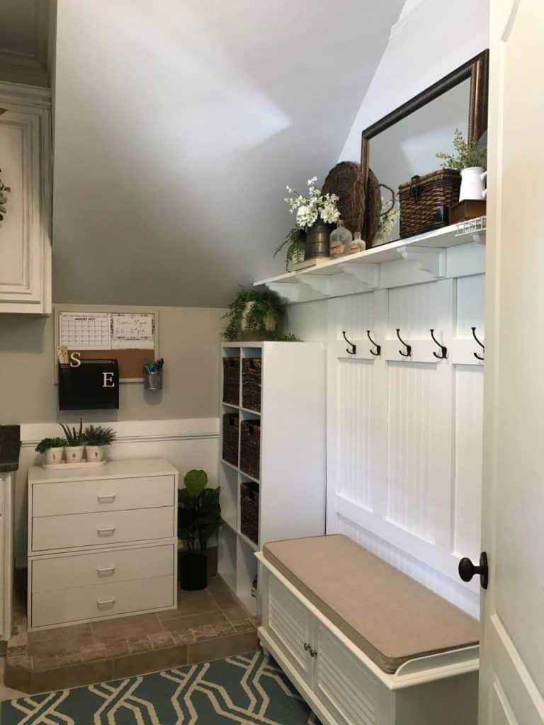 DIY: Making a Mudroom with Board and Batten