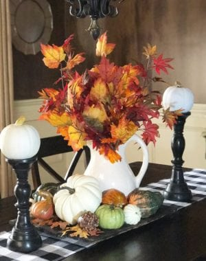 Fall Home Tour Decor Design Interior Art House