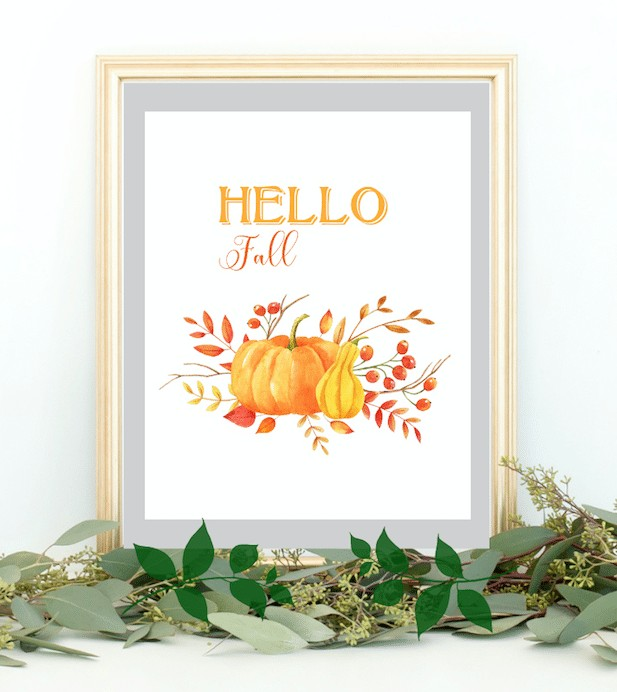 free printable fall hello fall free goodies free stuff pumpkins autumn