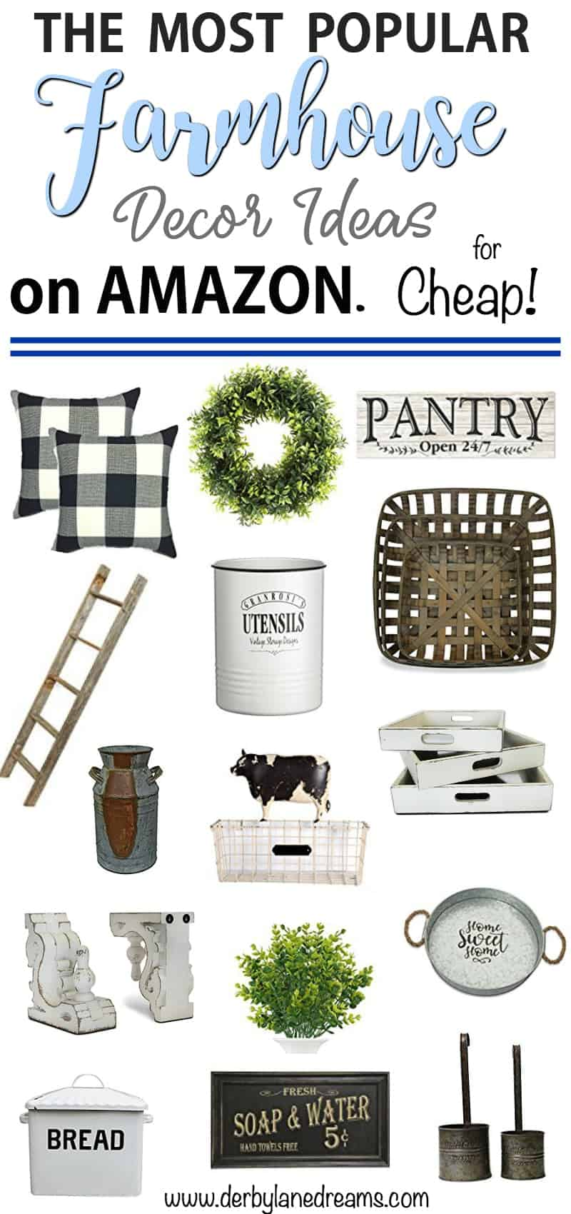 The Most Popular Farmhouse Decor On