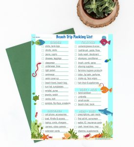 Beach-trip-wardrobe-and-packing-list-printable