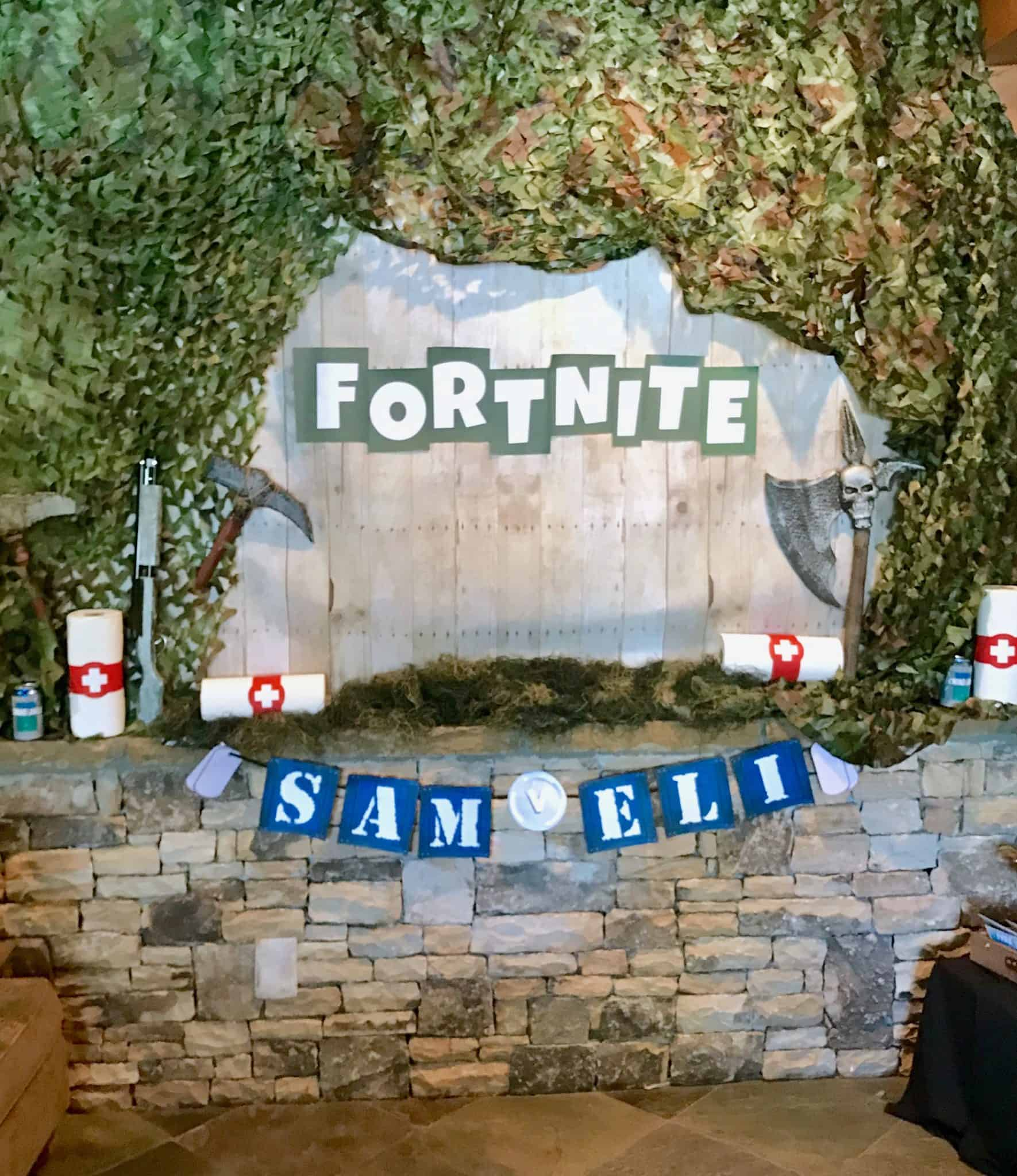 Fortnite Birthday Party Ideas and DIY Decorations Season 6