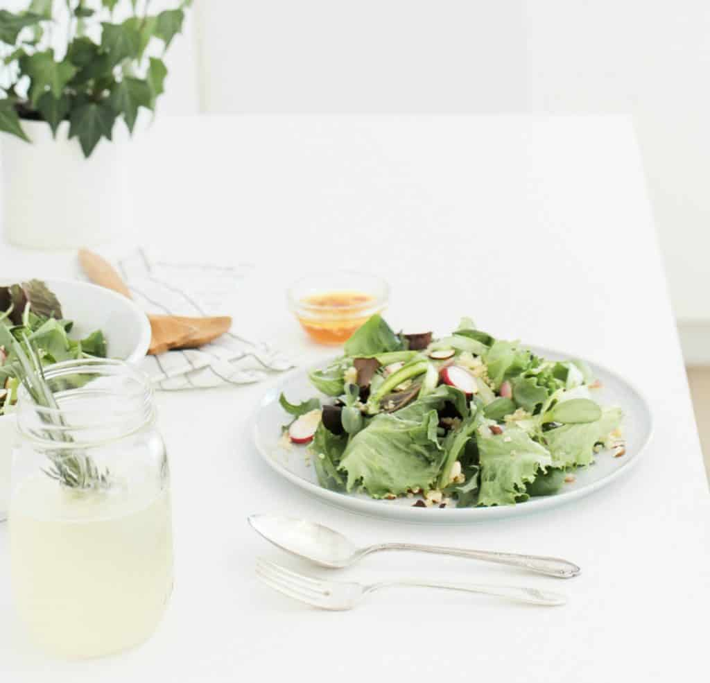 Keto diet and recipes for rapid weight loss salad
