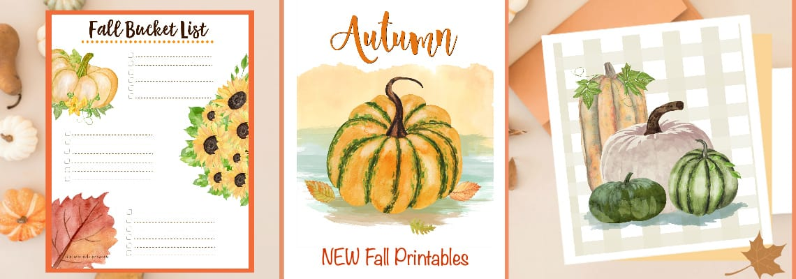 Autumn and Fall Wall Art
