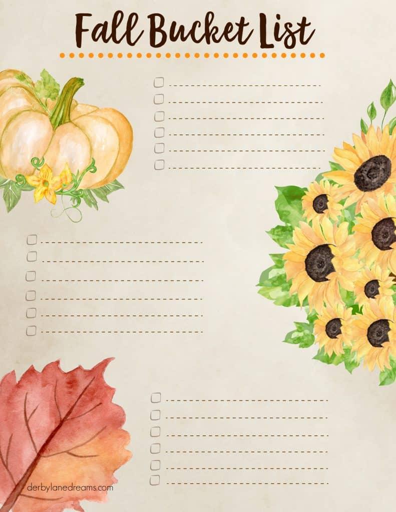 Festive Fall Harvest Decor Ideas Fall Bucket List