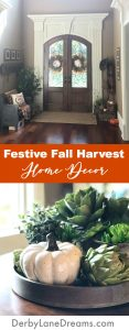 Festive Fall Harvest Home Decor DIY, Pinterest, cheap, budget, easy, for the home