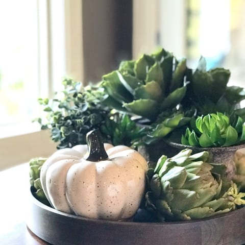 Festive Fall Harvest Home Decor