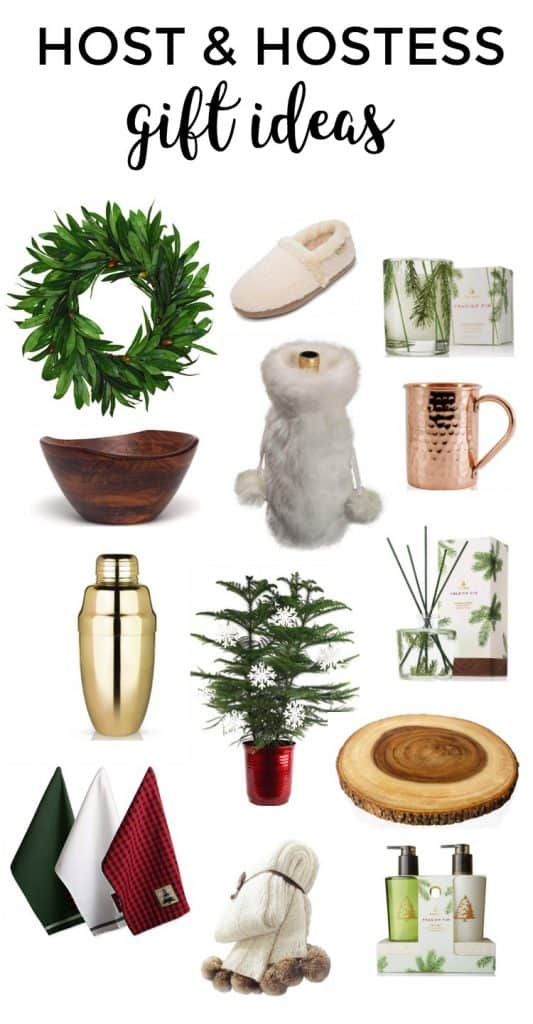 Best Host and Hostess Gift Ideas for Christmas