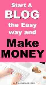 Start A Blog Make Money Online Boost Traffic to Blog