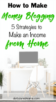 Make Money Blogging from Home, SAHM, Mom Blogger