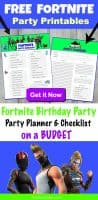 FORTNITE Birthday Party Ideas Party Planner and Checklist on a Budget