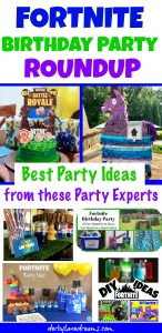 Fortnite Birthday Party Ideas Roundup