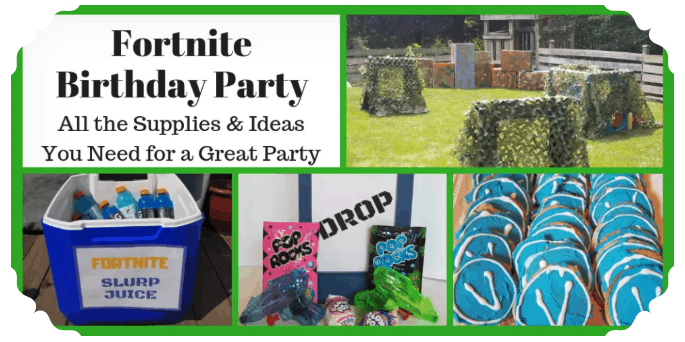 Epic Roundup of Fortnite Birthday Party Ideas