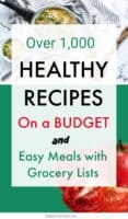 healthy recipes healthy meals on a budget for family clean eating easy dinner