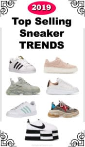 women's fashion sneaker trends spring and summer 2019