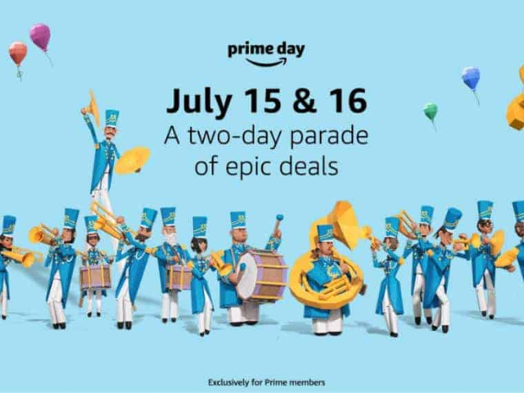 Amazon Prime Day is July 15 and July 16, 2019