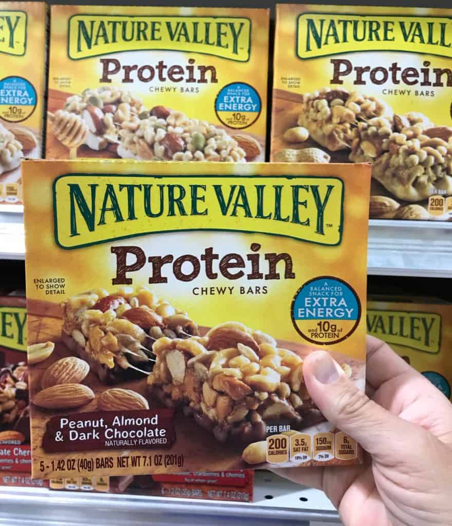 Natural Valley Protein Bar from General Mills at Publix grocery