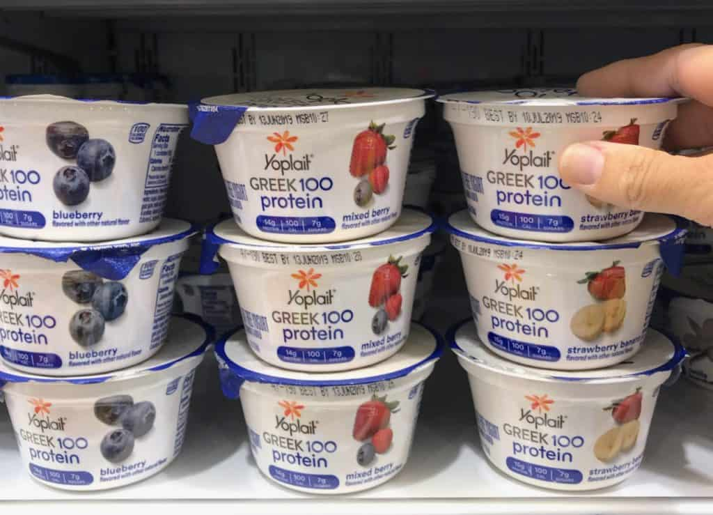 Yoplait yogurt for back-to-school snacks