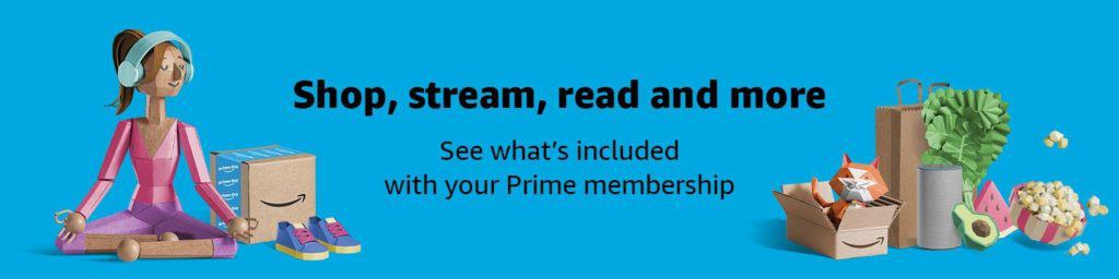 what's included with Prime membership