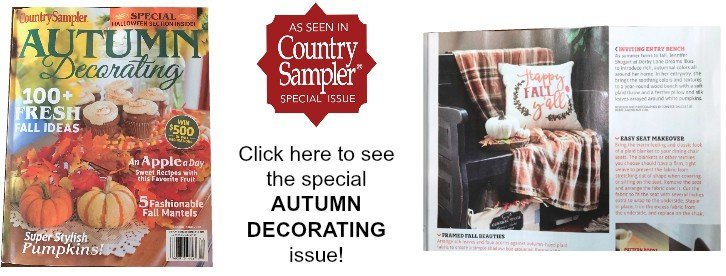 Fall and Autumn Decorating Issue
