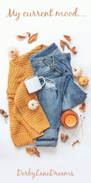 Fall leaves, fall wardrobe ideas