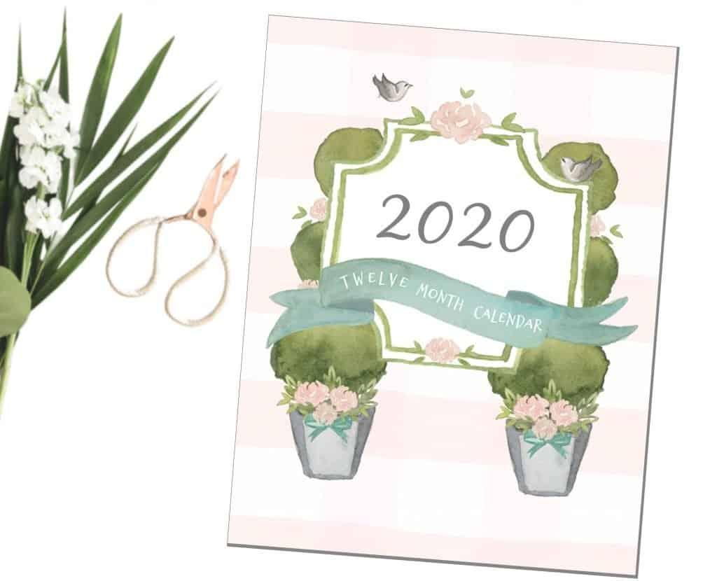 2020 Calendar, Derby Lane Dreams