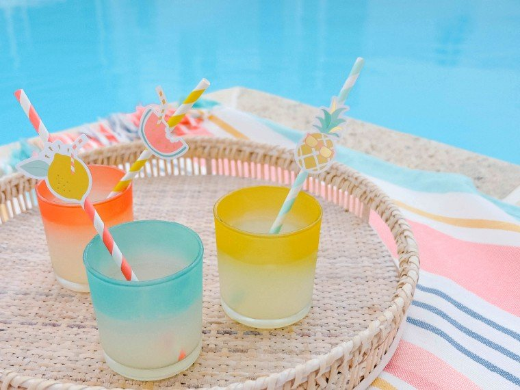 Have drinks by the pool in your new swimsuit
