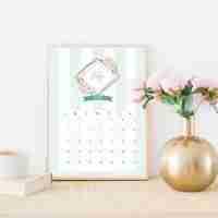 2021 Free Printable Monthly Calendar