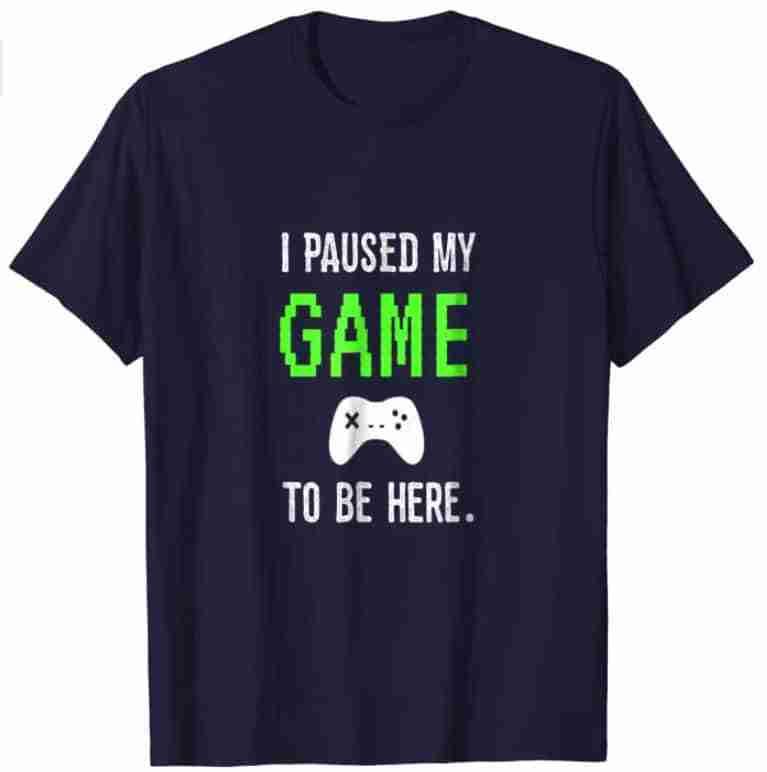 Video Gamer T-shirt.