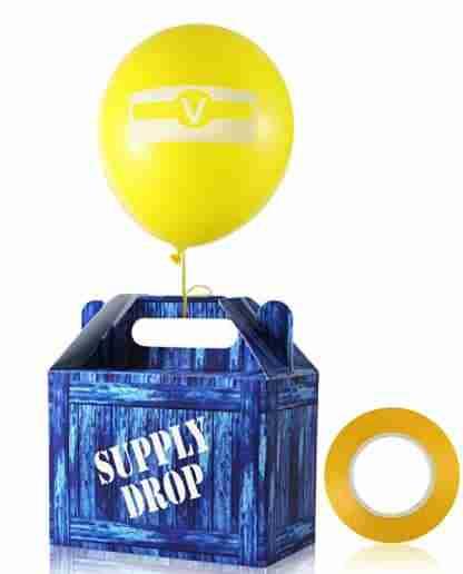 Supply drop box.