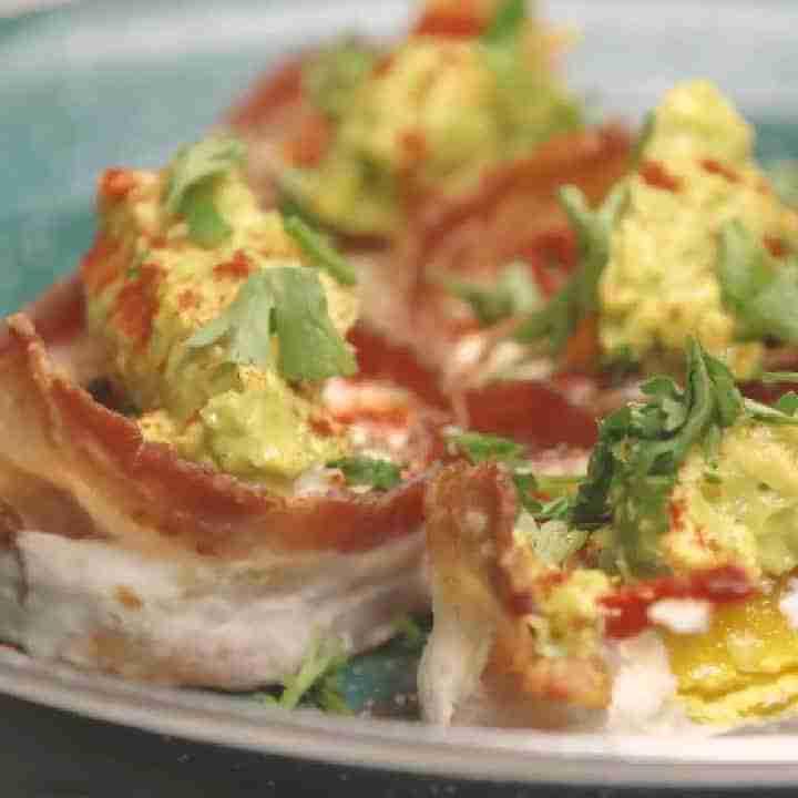 Keto bacon and egg bites