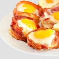 Keto bacon and egg bites