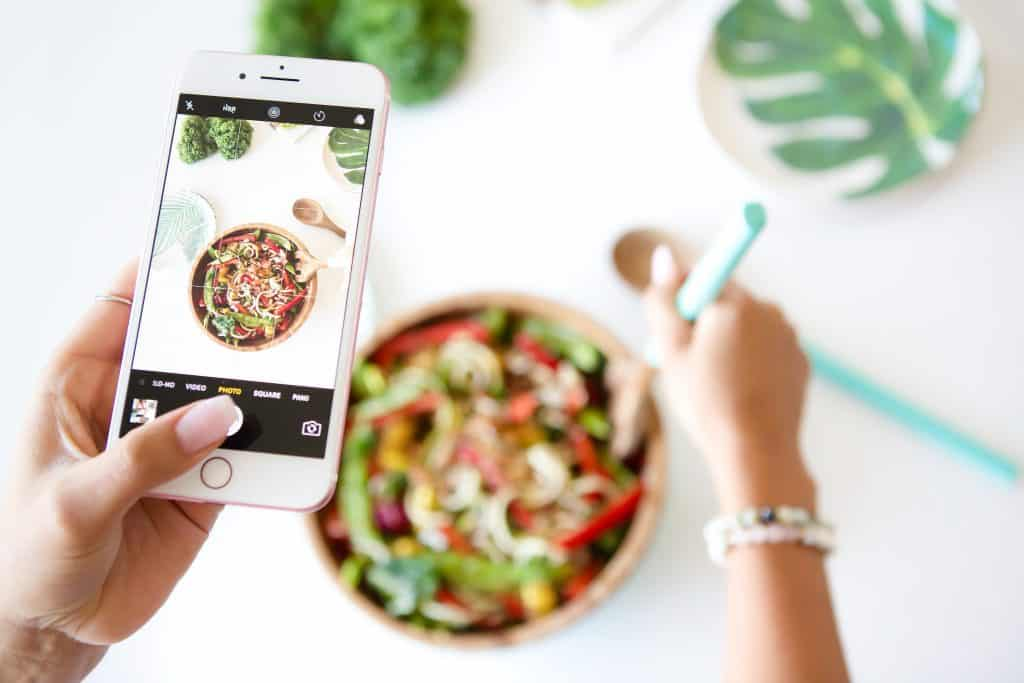 Healthy salad on Keto