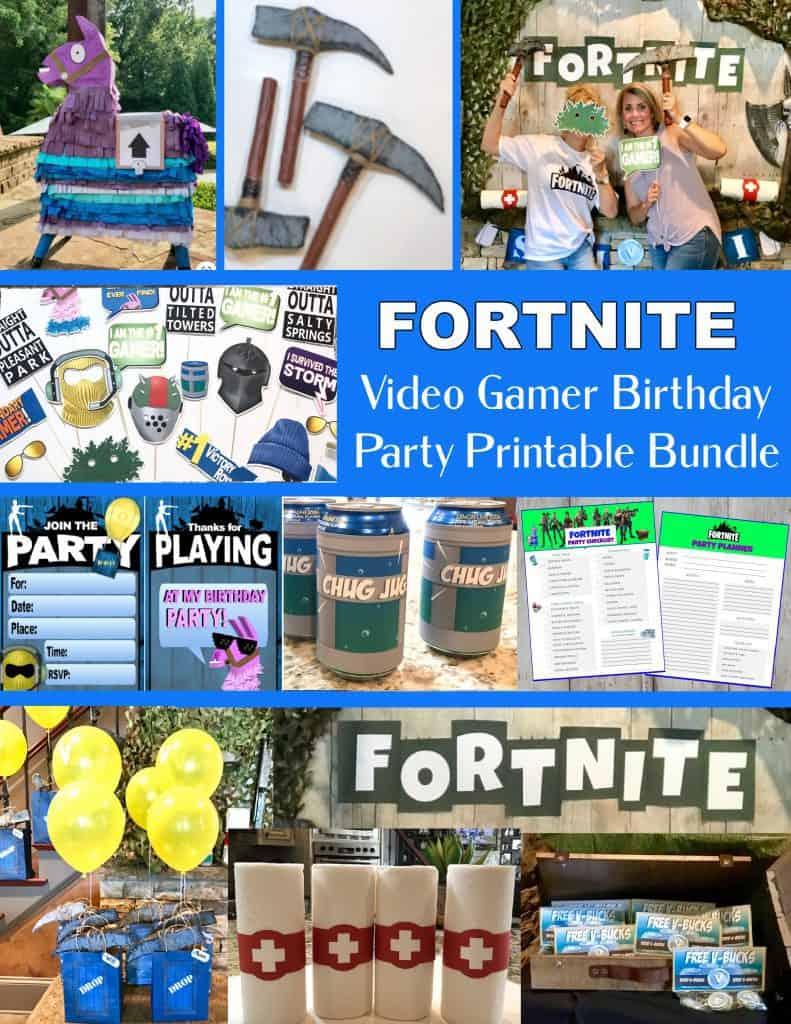 Fortnite Video Gamer Cover.