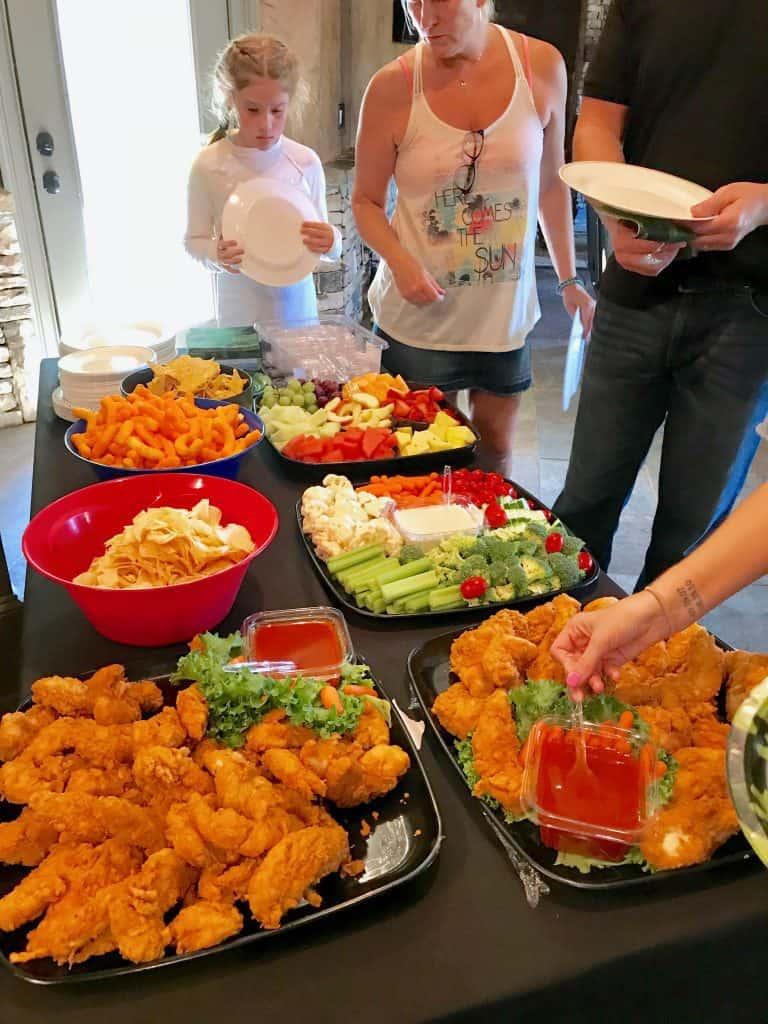 Fortnite Party Food Ideas, finger foods.