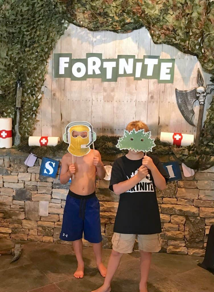 Fortnite Photo Booth Props.