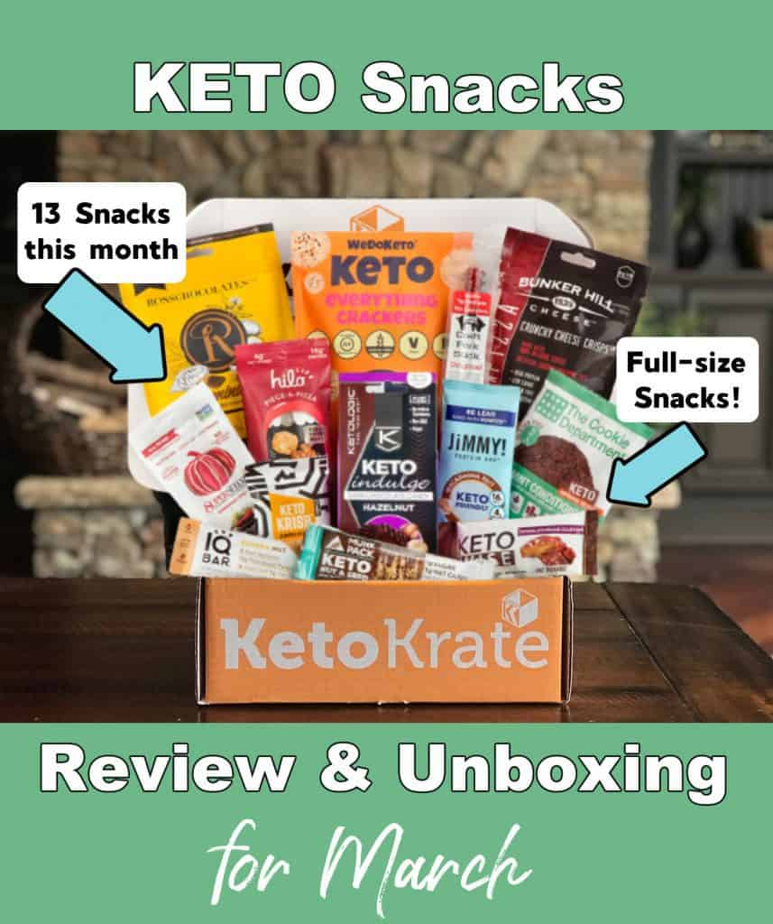 KetoKrate Review and Unboxing for March.