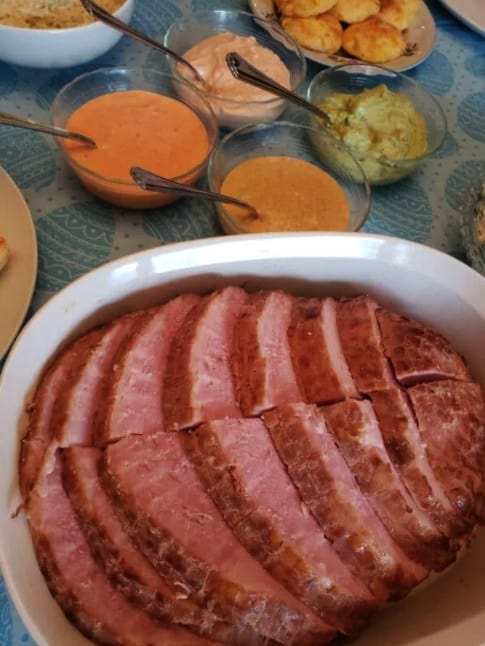 Keto Ham Easter Recipe.