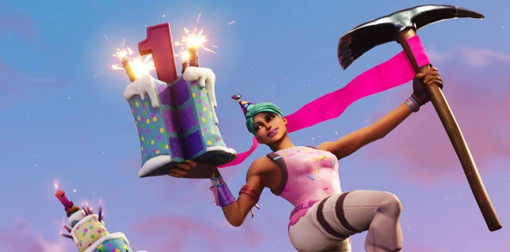 Epic Games Fortnite Birthday.