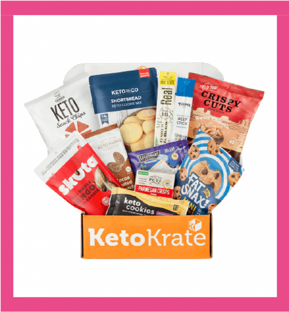 Keto Krate for April review of products.