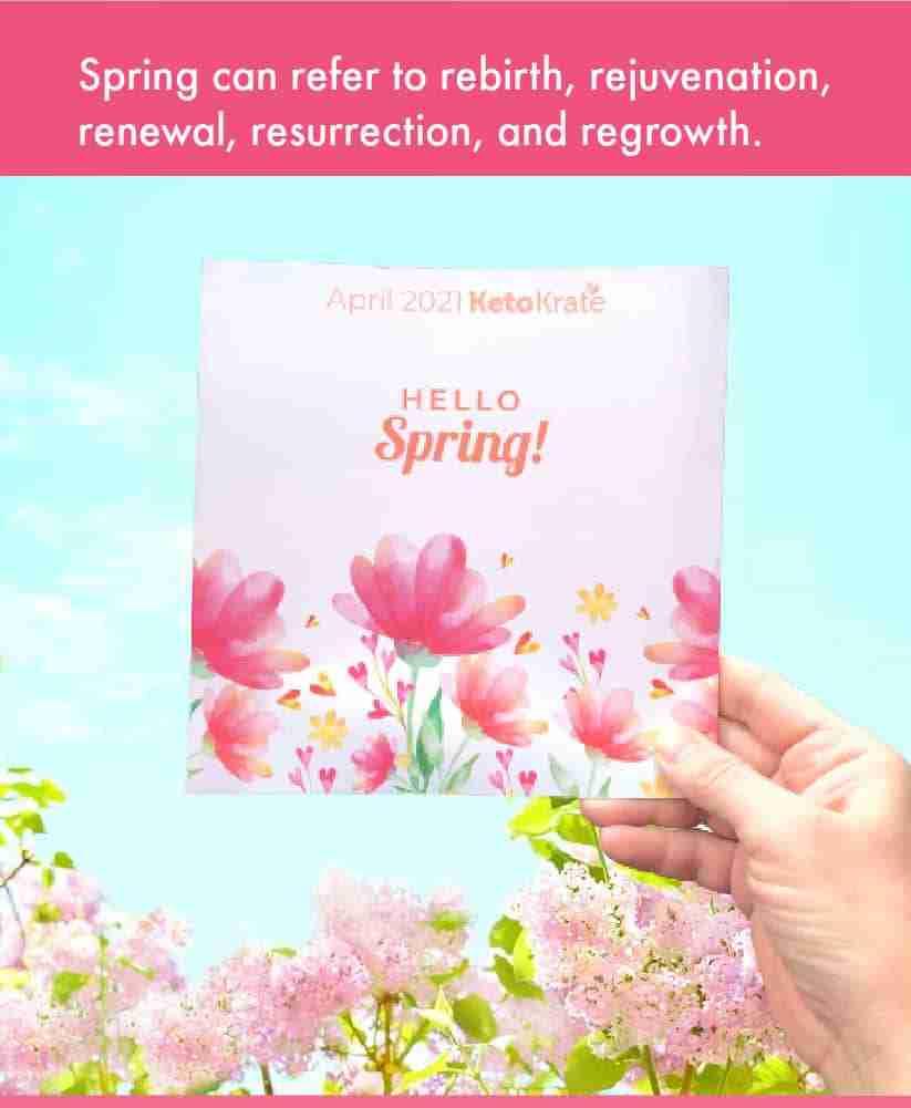 KetoKrate Spring brochure.